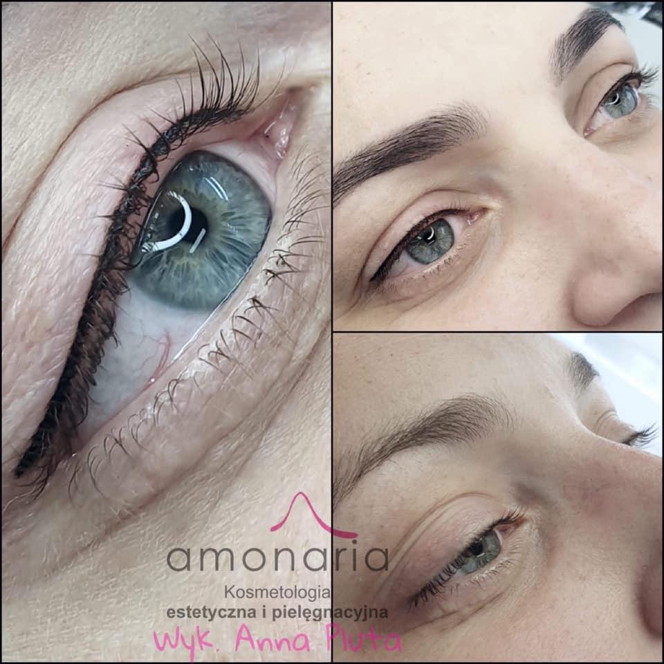 kreskapermanentna typu eyeliner efekty